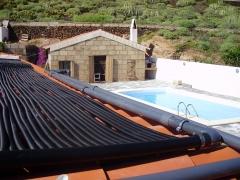 Climatizaci�n solar de piscinas particulares