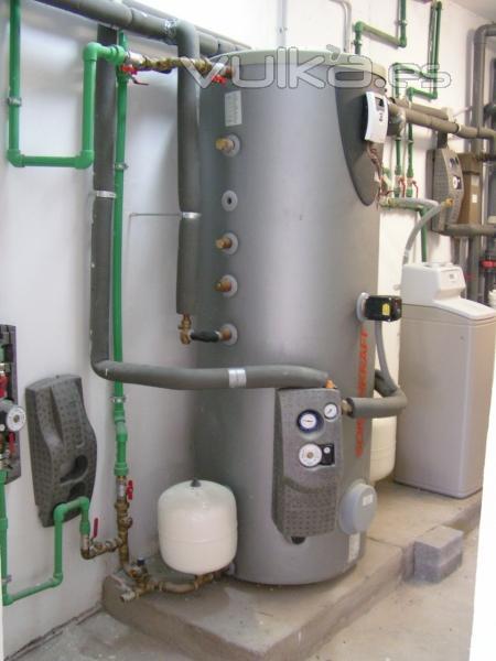 Altos rendimientos energ�ticos para agua caliente