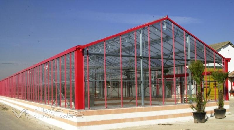 Sistemas dr invernaderos for Vivero e invernadero