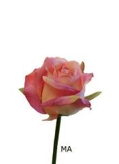 Rosas artificiales economicas. capullo rosa artificial peque�o malva oasisdecor.com
