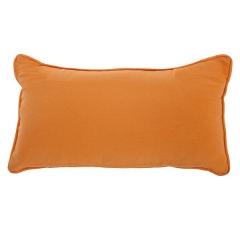 Hogar textil. cojin living naranja rectangular 25x45 en lallimona.com