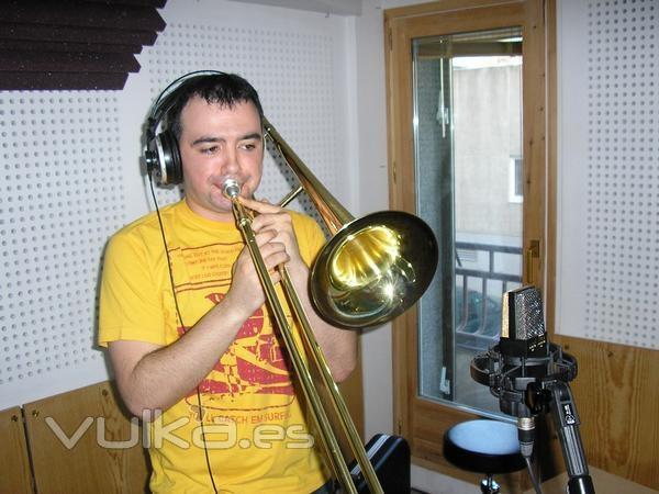 Grabaci´´on trombón