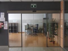 Puerta automatica de cristales