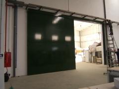 Puerta corredera cortafuegos rf-120 de 5 x 5