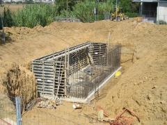 Disseny dip�sit recuperaci� aig�es pluvials per al reaprofitament per jardins p�blics
