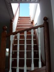 Escalera de tramos rectos