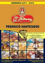 Cat�logo 2011-2012 mantecados el patriarca. distribuci�n en barcelona y lleida comercial h. mart�n