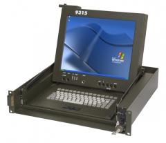 Aqeri 9315. kvm console para aplicaciones militares