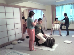 Shiatsu en silla