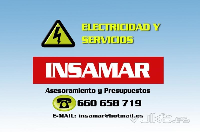 Insamar electricidad y servicios for Empresas de electricidad en sevilla