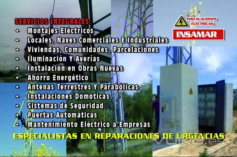Foto de insamar electricidad y servicios foto 2 for Empresas de electricidad en sevilla