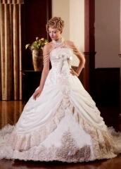 Espectacular vestido novia princesa