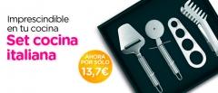 Promoci�n set cocina italiana