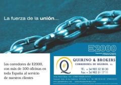 Quirino & brokers - los componentes de e2000 somos los que mejor servicio damos con más de 600 ofici