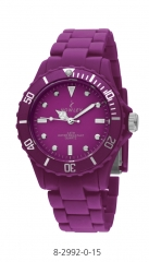 Relojes nowley flash color lila-berenjena