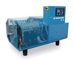 Compresores de pist�n exentos de aceite boge son 100% industriales (para trabajos de 24/24 horas)