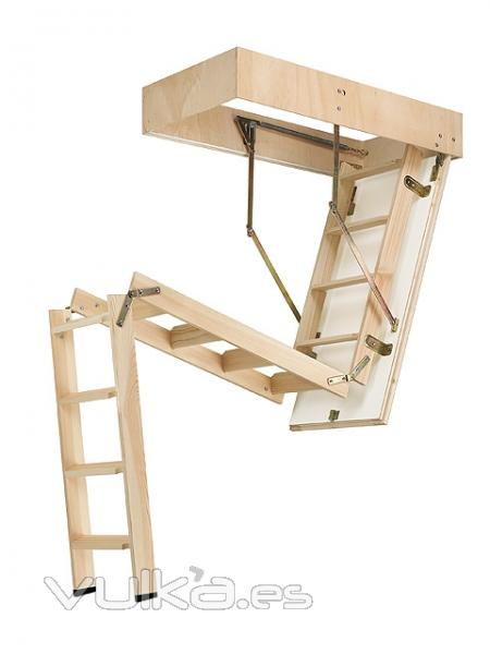 Foto escaleras escamoteables baratas escaleras de bajo for Escaleras plegables baratas