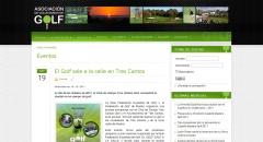Creación de la página web de la asociación de voluntarios de golf de españa