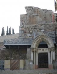 Puerta catedral vieja de cartagena
