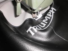 Así cosemos los asientos de moto en nuestro taller