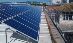 Instalaci�n solar fotovoltaica 2011 con universal energy
