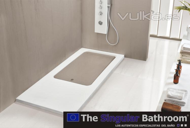 Foto instalacion montaje plato de ducha the singular - Precio de una banera ...