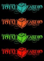 Designdcl: pruebas de color logo fco. pons total cardio