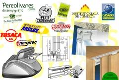 Imagen corporativa e ilustraciones para folletos e instrucciones de montaje