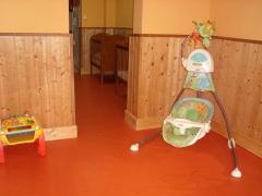 Pavimento vinílico en guardería palma zona pasillo