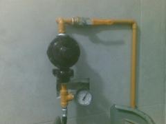 Regulador domestico con manometro