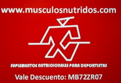 Musculosnutridos.com vale descuento primera compra