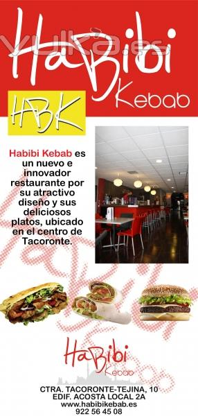 Habibi Kebab, pide sus platos online desde www.motoreparto.com