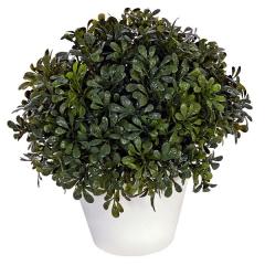 Plantas artificiales. planta artificial bola boxwood maceta 22 en lallimona.com
