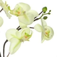 Plantas artificiales con flores. planta artificial flores orquidea maceta 50 en lallimona.com (1)