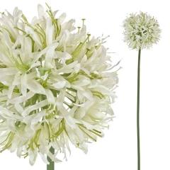 Flores artificiales. flor artificial allium lavanda blanca 60 en lallimona.com (1)