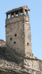 Chimenea de la abad�a de jasa