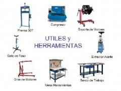 Utiles y herramientas para mec�nica en general
