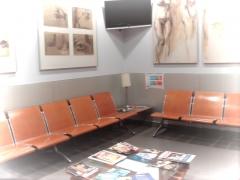 Sala de Espera del Area de Nutricion y Medicina Estetica