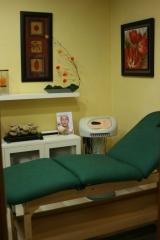 Cabina de tratamientos corporales con ducha