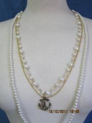 Collar imitacion perla ,liquidacion