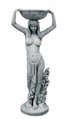 Figuras de jardin mujer cesta 40x120cm. 68kg. 141eur