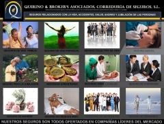 Quirino & brokers - ejemplos de algunos de los seguros personales mas importantes que comercializamo