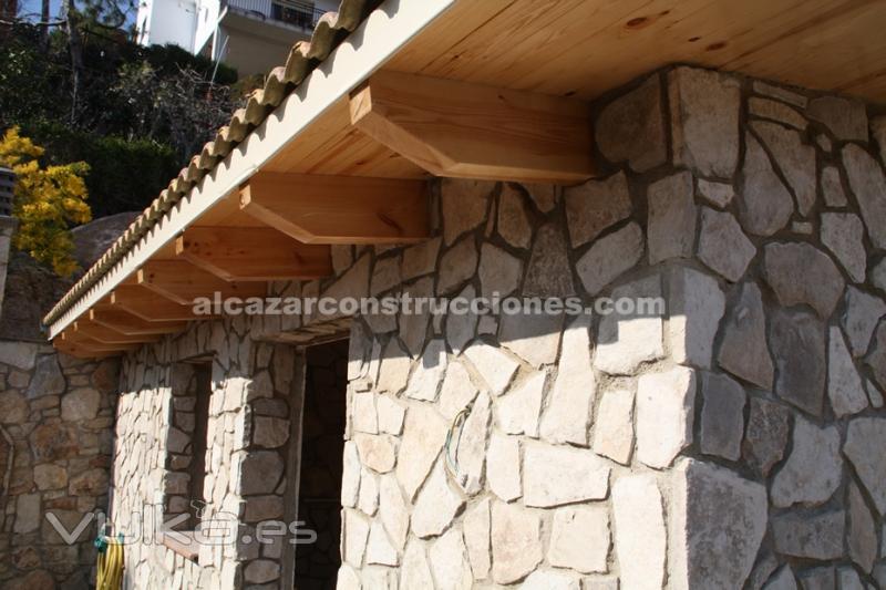 Alc zar construcciones - Piedra rustica para fachadas ...