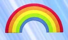 Ambientador celulosa arcoiris