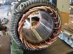 Motor electrico. bobinado motor