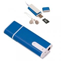Reproductor mp3 con tarjeta micro sd de 4gb y auriculares incluidos, modelo complet. ref.azkmp9