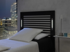 cabecero de cama iluminaci�n led incorporada