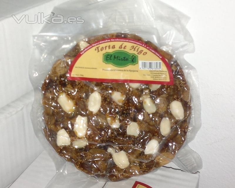 Torta de Higo Almendrada Abierta.