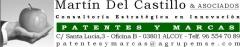 MARTIN DEL CASTILLO ASOCIADOS info@patentesomarcas.com