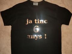 Camisetas de ni�os para evento especial